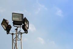 Лампа используемая для освещения сада Стоковая Фотография