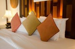 Лампа и подушка Стоковое Изображение