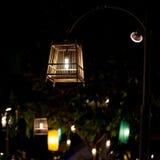 Лампа клетки птицы Стоковая Фотография
