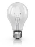 Лампа на белой предпосылке иллюстрация вектора