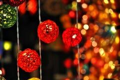 Лампа на ноче Стоковые Изображения RF