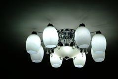 Лампа на потолке стоковые фото