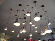 Лампа на потолке Стоковая Фотография