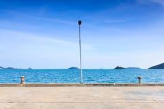 Лампа на пристани Стоковые Фотографии RF