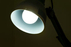 Лампа освещает Стоковые Фото