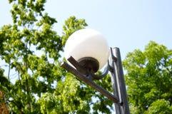Лампа парка Стоковое Изображение