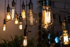 Лампа приведенная удара нити Стоковые Изображения RF