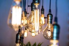 Лампа приведенная удара нити Стоковые Фотографии RF