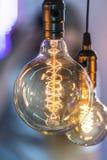 Лампа приведенная удара нити Стоковое фото RF