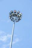 Лампа проселочной дороги светлая Стоковое Фото
