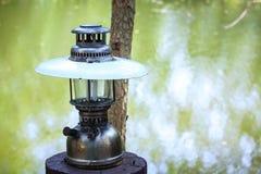 Лампа, современная Стоковое фото RF