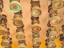 Лампа старомодная Стоковые Изображения RF