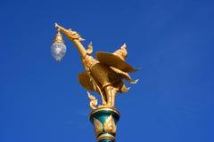 Лампа столба Стоковая Фотография