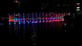 Лампа фонтана Стоковая Фотография