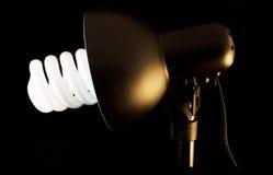 Лампа фото Стоковое Фото