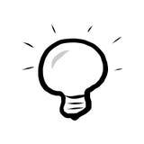 Лампа чертежа иллюстрация штока