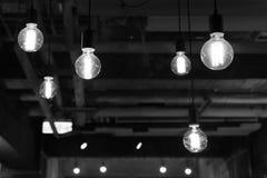 Лампочка надземная Стоковое Фото