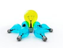Лампочка бесплатная иллюстрация