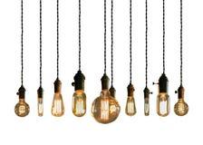 Лампочки Edison Стоковое Фото