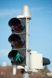 Лампы знака уличного движения и движения Стоковые Фотографии RF