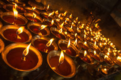 Лампы масла Стоковое Изображение