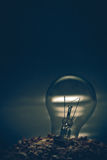 Лампы на насыпи Стоковое фото RF
