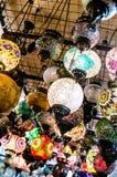 Лампы на рынке в Турции стоковые фото