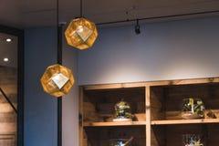 Лампы смертной казни через повешение светлые стоковые фотографии rf