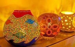 Лампы с картинами Стоковая Фотография RF