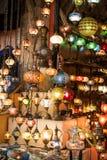 Лампы тахты мозаики от грандиозного базара Стоковые Фото