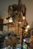 Лампы Diy закрывают вверх Стоковые Фотографии RF