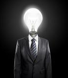 Ламп-голова зарева Стоковая Фотография RF