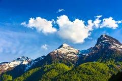Ландшафты гор Кавказа, Сочи, Россия стоковые фото