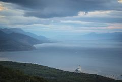 Ландшафты и природа Ushuaia стоковое изображение rf