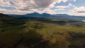Ландшафты на национальном парке Canaima в Южной Америке сток-видео