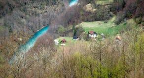 Ландшафты Черногории стоковые изображения rf