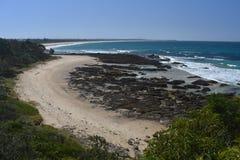 Ландшафт Австралии пляжа диаманта солнечный стоковая фотография rf