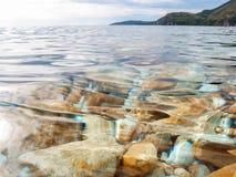 Ландшафт Адриатического моря Стоковые Изображения RF
