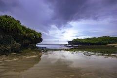 Ландшафт Азии океана стоковые фотографии rf