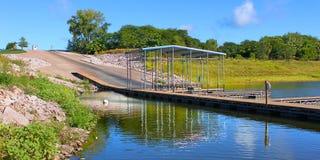 Ландшафт Айова озера Saylorville стоковое фото