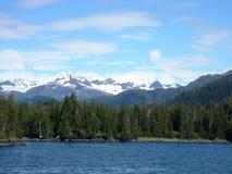 ландшафт Аляски Стоковые Изображения