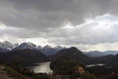 ландшафт Баварии Стоковое Изображение RF