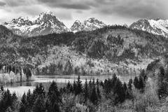 Ландшафт Баварии Стоковое Фото