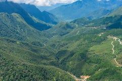 Ландшафт бдительности строба рая долины горы Стоковые Фото