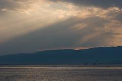 ландшафт береговой линии Стоковые Фотографии RF