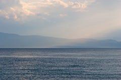 ландшафт береговой линии Стоковое Изображение