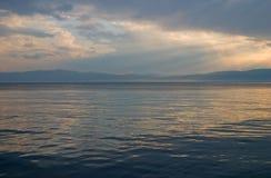 ландшафт береговой линии Стоковая Фотография RF