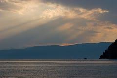 ландшафт береговой линии Стоковое Изображение RF