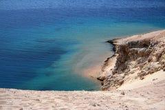 ландшафт береговой линии Стоковая Фотография