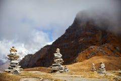 Ландшафт больших Гималаев Стоковая Фотография